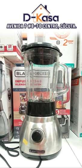 Licuadora Tricuadora BLACK&DECKER | Vaso de Vidrio | 1.5 Litros | 2 velocidades | ► ENVIÓ GRATIS ◄