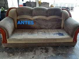 lavado,desmanchado y desinsectado de muebles, colchones, sillas de comedor e interiores de vehículos