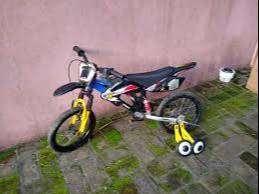 Bicicleta R 16 Moto Bike Ruedin como Nueva