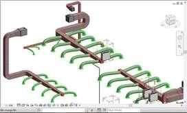 REVIT, Diseño de aire acondicionado y Diseño de sistemas de extracción