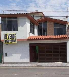 Vendo Casa en Urb. Federico Villareal -Chiclayo (Frente paseo Yortuque)