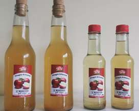 Vinagre de manzana artesanal