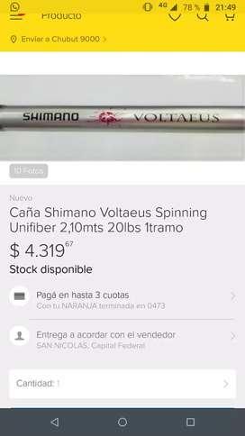 Caña Shimano Voltaeus