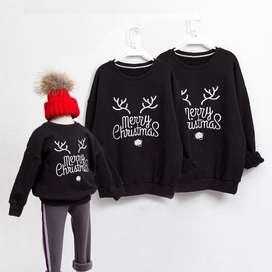 Sudadera hoodie con estampado navidad