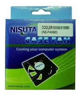Ventilador NISUTA 60x60x15 Mm 12v, 3 Pin, A Ruleman Ns-fan60 Lz