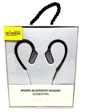 Audifonos deportivos Bluetooth de orejera