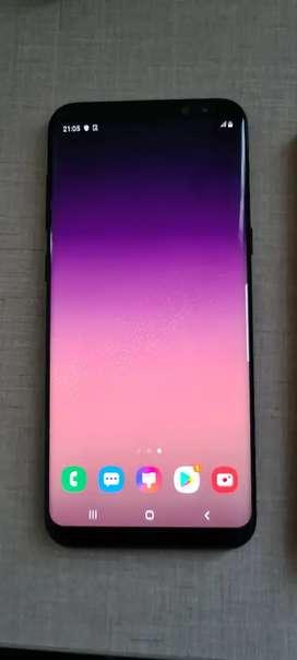 Samsung S8 Plus en PERFECTO estado + protector original