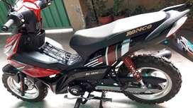 Vendo  Motocicleta Ronco  RC 110c Semiautomática  año 2019