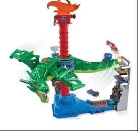 Pista hotwheels ataque aéreo del dragón original nuevo