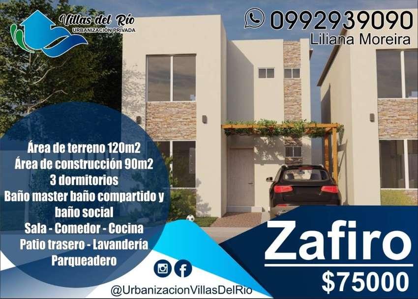 VILLAS DEL RIO VENDE HERMOSAS CASAS DENTRO DE URBANIZACION