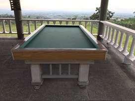 Se vende hermosa mesa de billar clasica para restaurar
