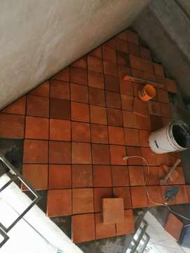 Se instala porcelanato cerámica 4$m2