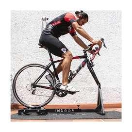Disfruta tu bicicleta en casa con Rodillo de Soporte Indoor ensamble Aguja