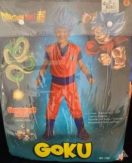 Disfraz de Goku, en perfecto estado