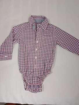 Camisa Carters bebé