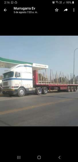 Vendo en PIURA tráiler de 33 toneladas de carga, listo para darle uso