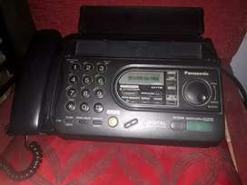 Vendo FAX TELEFONO PANASONIC