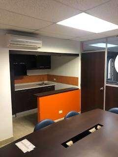 Alquiler de oficina amoblada  Edificio Finansur Centro Avenida 9 de octubre y Los Rios