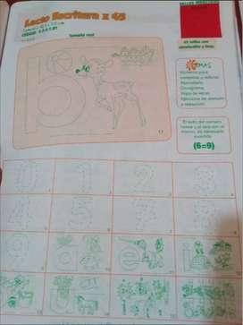 Sellos didácticos Lecto escritura script x 45 para jardines, profesores, padres y colegios