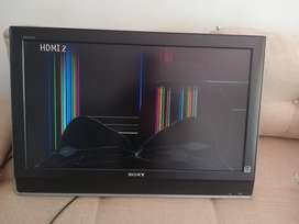 Vendo Tv Sony Bravía 32 P. Repuestos