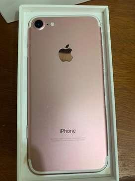 iPhone 7 128 Gb Rose. usado excelente estado