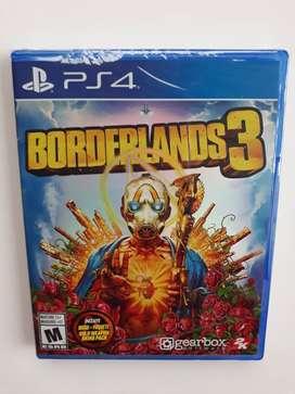 Borderlands 3 Juego Ps4 Nuevo Y Sellado en Español.