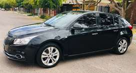 Vendo Chevrolet Cruze 1.8 nafta, 5 Puertas LTZ caja manual, año 2013