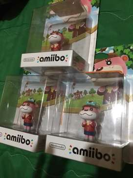 Vendo Nintendo amiibo animal crossing