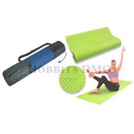 Colchoneta Yoga Mat Fitness Con Funda Estuche Ejercicio