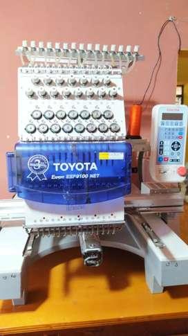 Venta Bordadora Toyota 9100