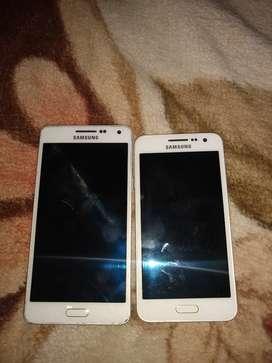 2 celulares a reparar display