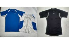 Reebok combo 2 camisetas + 1 pantaloneta