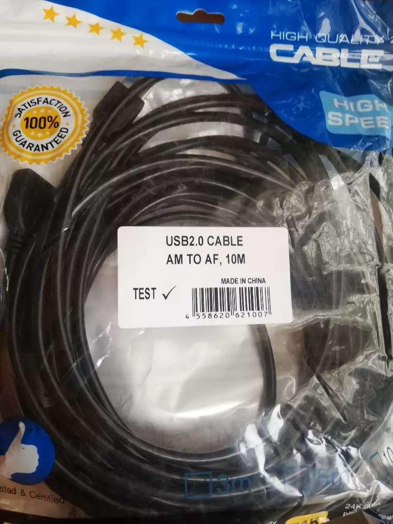 Extensión cable usb 10 metros 0