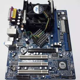 Motherboard P4VM8 + cpu 2.26ghz pga478, no da video