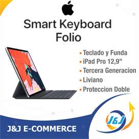 Smart Keyboard Teclado Folio Funda iPad Pro 12.9 Tercera 3ra Generación Apple