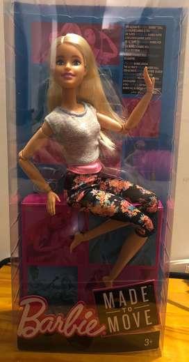 Muñeca barbie ultra flexible articulada