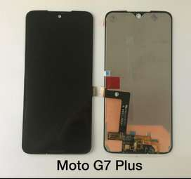 Display Moto G7 Plus Original Instalado