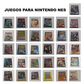 Juegos para NINTENDO NES nintendo entertainment system