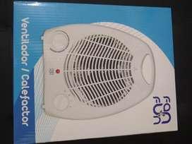 Se Vende Ventilador Peq Calefactor Nuevo
