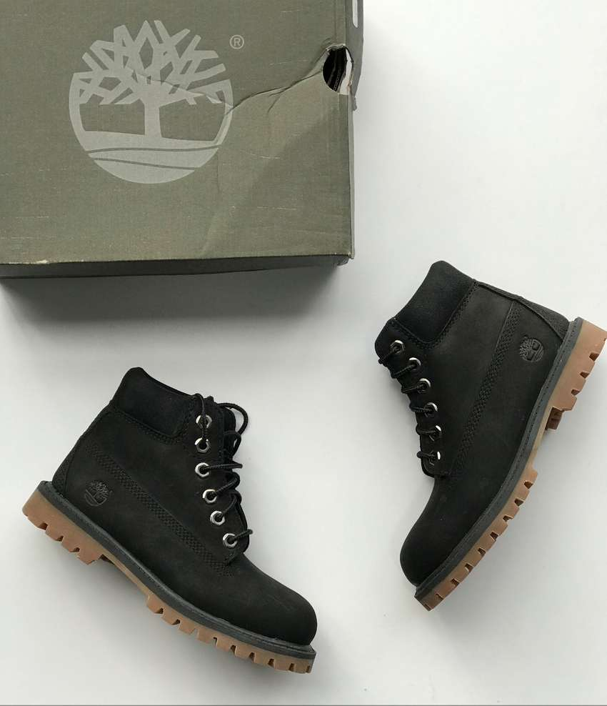 Bota Timberland Toddler's 6Inch WP Boot BLACK A14X6 TALLAS 26,27,28 0
