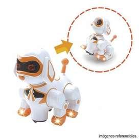 Perrito Inteligente Robot Playmate Con Luz Sonidos Y Frases IMPORTADO
