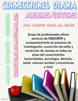 CORRECCIONES DIANA / ASESORES - EDITORES