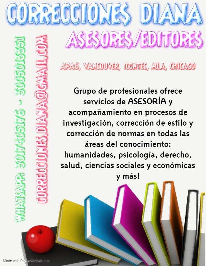 CORRECCIONES DIANA / ASESORES - EDITORES 0