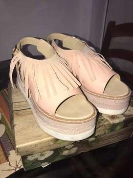 Sandalias con plataformas