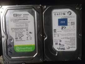 Disco duro  de 500gb full estado