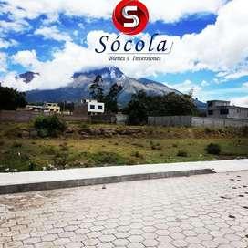 Venta de lotes de terreno de 270m2, urbanos en Atuntaqui, Antonio Ante