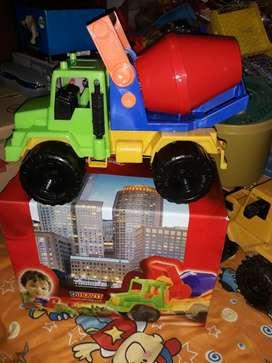 Camión con Mezcladora Duravit