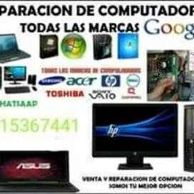 Te reparamos tu computadora!!