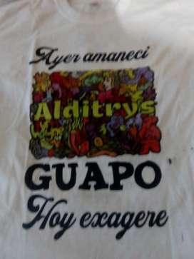 Camisetas Poliéster 14.000