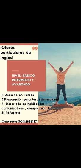 Clases de Ingles, Refuerzos, tesis, Asesorias.
